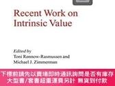 二手書博民逛書店Recent罕見Work On Intrinsic ValueY255174 Ronnow-rasmussen