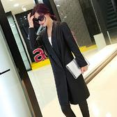 風衣外套-秋冬保暖時尚韓版長版女皮衣大衣71au17【巴黎精品】
