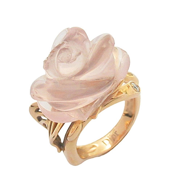 Dior 迪奧 Rose Dior Pré Catelan Ring 18k玫瑰金戒指 JROC95005 #53 【BRAND OFF】