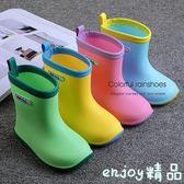 雙12狂歡購 日本兒童雨鞋防滑寶寶雨靴小童男童女童四季水鞋兒童加絨雨鞋水靴