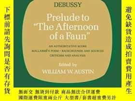 二手書博民逛書店【罕見】1970年出版 Prelude To the Afternoon Of A FaunY27248 Cl