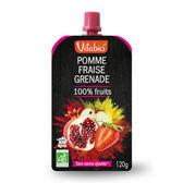 法國Vitabio 有機優鮮果PLUS-蘋果+草莓+石榴120g