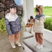 兒童羽絨服 兒童羽絨服男童韓版女童洋氣白鴨絨90絨潮牌中小童寶寶輕薄款 快速出貨