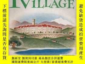 二手書博民逛書店【罕見】Immortal Village(唐納德·C. 皮阿提《