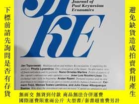 二手書博民逛書店jpke罕見journal of post Keynesian economics 2016年 vol.39 no
