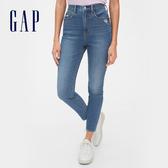 Gap女裝時尚水洗五口袋牛仔褲547154-靛藍色