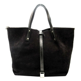 Tiffany & Co 蒂芬妮 棕色麂皮手提包 付小袋 TRT Reversible Tote Bag【BRAND OFF】