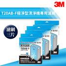 【量販三片】3M T20AB-F 極淨型清淨機專用濾網 除溼/除濕/防蹣/清淨/PM2.5