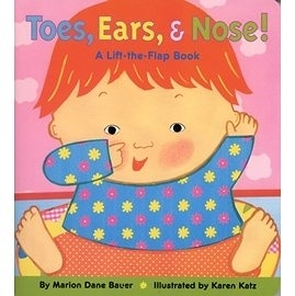 【小寶寶的身體認知書】TOES EARS AND NOES /硬頁翻翻書