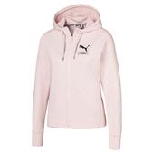 Puma Nu-Tility 女 粉色 外套 長袖 連帽外套 長袖外套 棉質外套 健身 慢跑 休閒 外套 58277517