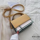 小包包斜背包女百搭洋氣側背包小包簡約小方包【時尚大衣櫥】