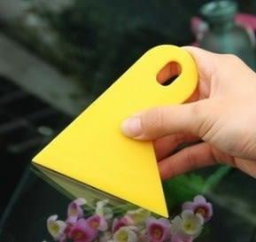 汽車貼膜工具刮板 (隨機色) 單入 9元