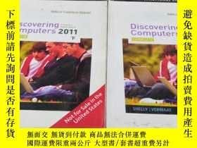 二手書博民逛書店Discovering罕見Computers 2011(上下)Y