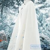 斗篷外套女 2020秋冬季女復古中國風改良民族風漢服披風加絨加厚斗篷外套 HD