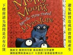 二手書博民逛書店英文原版罕見Molly Moons Hypnotic Time-