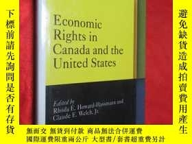 二手書博民逛書店Economic罕見Rights in Canada and t