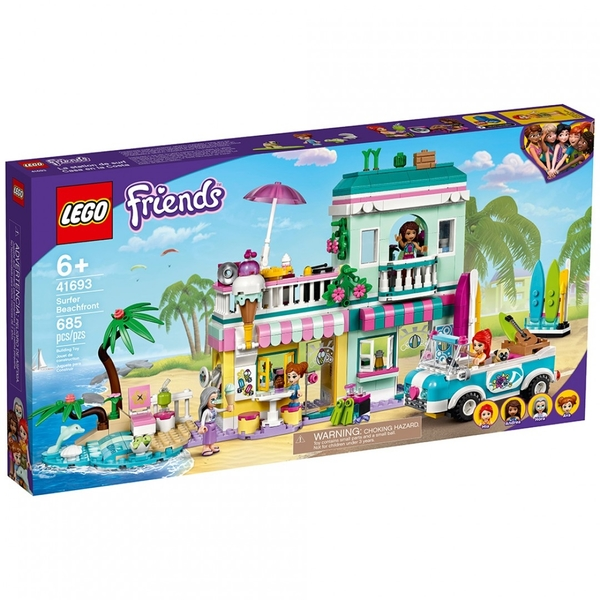 樂高積木 LEGO《 LT41693 》Friends 姊妹淘系列 - 衝浪海濱 / JOYBUS玩具百貨