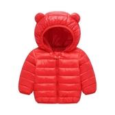 兒童羽絨輕薄棉服嬰兒寶寶棉襖男女童中小童冬外套0--3歲