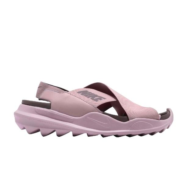 Nike 涼拖鞋 Wmns Praktisk 粉紅 繃帶 NSW 女鞋 【ACS】 AO2722-500