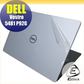 【Ezstick】DELL Vostro 5481 P92G 透氣機身保護貼(含上蓋貼、鍵盤週圍貼、底部貼)DIY 包膜