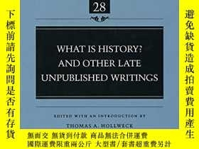 二手書博民逛書店What罕見Is History? And Other Late Unpublished WritingsY2
