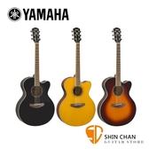 YAMAHA 山葉 CPX600 可插電 41吋民謠吉他 附琴袋/移調夾/背帶/導線/彈片【電木吉他 / CPX-600】