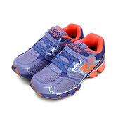 LIK夢 LOTTO 動感彈力跑鞋 X-POWER 紫橘 3767 大童