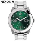 NIXON 手錶 原廠總代理 A346-1696 THE CORPORAL SS 潮流時尚鋼錶帶 男女適用 生日 情人節禮物