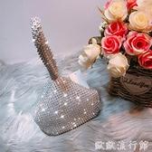 晚宴包 水鑚包包女2021最新版網紅小包鑲鑚百搭晚宴包洋氣閃閃手提女包潮 歐歐