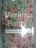 【書寶二手書T7/哲學_OLC】Phenomenology of Perception_Merleau-Ponty, M