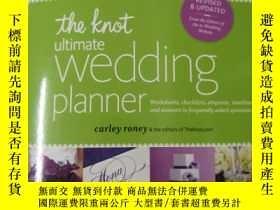 二手書博民逛書店the罕見knot ultimate wedding plann