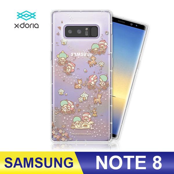 SAMSUNG Note 8 雙子星kiki&lala 立體彩繪手機殼 空壓殼 防摔殼 保護殼 銀河麋鹿 三麗鷗正版授權