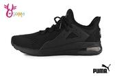 PUMA ELECTRON STREET ENG MESH 成人男款 運動鞋 透氣 慢跑鞋 J9525#黑色◆OSOME奧森鞋業
