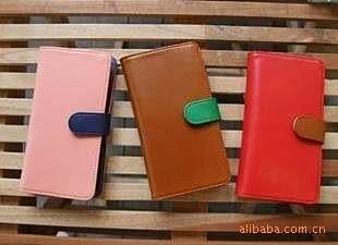 【發現。好貨】 韓國時尚撞色皮夾 大容量錢包 中長夾 零錢包 卡包