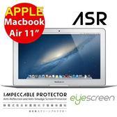 "TWMSP★按讚送好禮★EyeScreen Macbook Air 11"" ASR 靜電式低反射護眼抗污 螢幕保護貼"