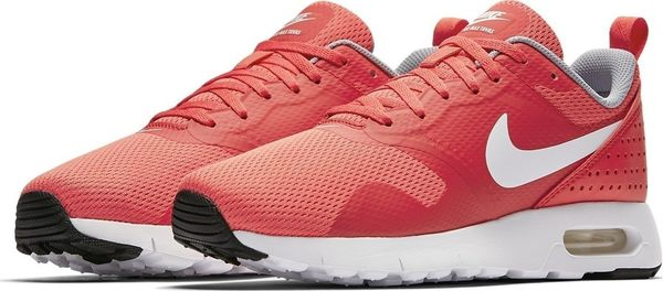 *Nike Air Max Tavas GS 紅 白 休閒 氣墊 透氣 網布 大童 女 814443-603