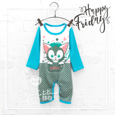 寶寶 卡通 迪士尼貓咪點點包屁衣  兔裝  寶寶 童裝 小童 BABY