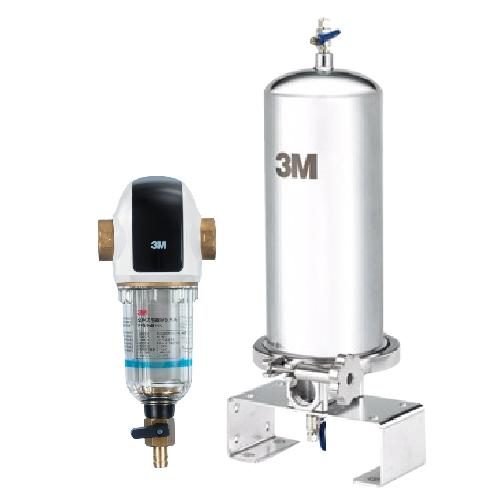 【本月買就贈】3M 全戶式淨水系統~ 3M SS801全戶式不鏽鋼淨水系統+全戶式前置淨水系統BFS3-40BK