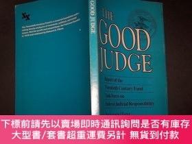 二手書博民逛書店THE罕見GOOD JUDGE ,【32開,英文】Y10852 BACKGROUND PAPER PRIOR