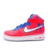 Nike Air Force 1 Hi CMFT [624185-800] 男鞋 休閒 經典 街頭  AF1 紅 藍