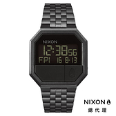 NIXON THE RE-RUN 黑/ 電子錶 A158-001 NIXON官方直營