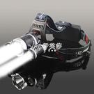 快速出貨LED三頭頭燈強光可充電感應夜釣捕魚燈遠射超亮頭戴式礦燈手電筒