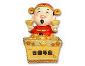 鹿港窯-居家開運商品◆日進斗金財神公仔聚寶盆◆預購商品【單位為360件】