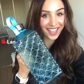 伊人 運動水壺 大容量 水瓶 塑料 運動水杯 健身水壺