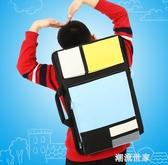 諾爾德畫袋 美術袋 兒童 8K畫板袋畫包學生雙肩背寫生專用 可定制MBS『潮流世家』