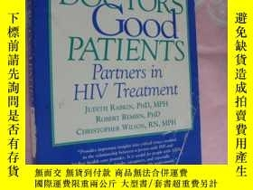 二手書博民逛書店GOOD罕見DOCTORS GOOD PATIENTS (Par