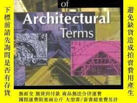 二手書博民逛書店Encyclopaedia罕見of Architectural