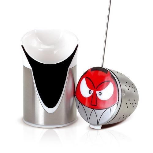 德國AdHoc 人物造型濾茶器 (DEVIL) 泡茶 品茗配件 茶器 午茶時光 休閒聚餐  不鏽鋼 好生活