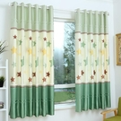 【免運】窗簡約現代短簾半遮光小窗簾布料臥室陽臺 台飄窗