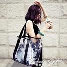2020新款韓版防水透明包沙灘包塑料包包女包 果凍包 側背包包 果果輕時尚